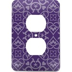 Lotus Flower Electric Outlet Plate (Personalized)
