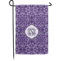 Lotus Flower Garden Flag - Single or Double Sided (Personalized)