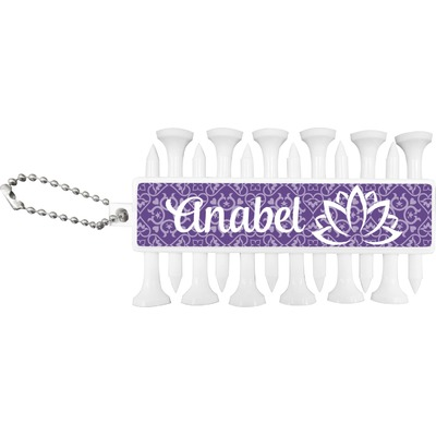 Lotus Flower Golf Tees & Ball Markers Set (Personalized)