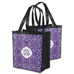 Lotus Flower Grocery Bag (Personalized)