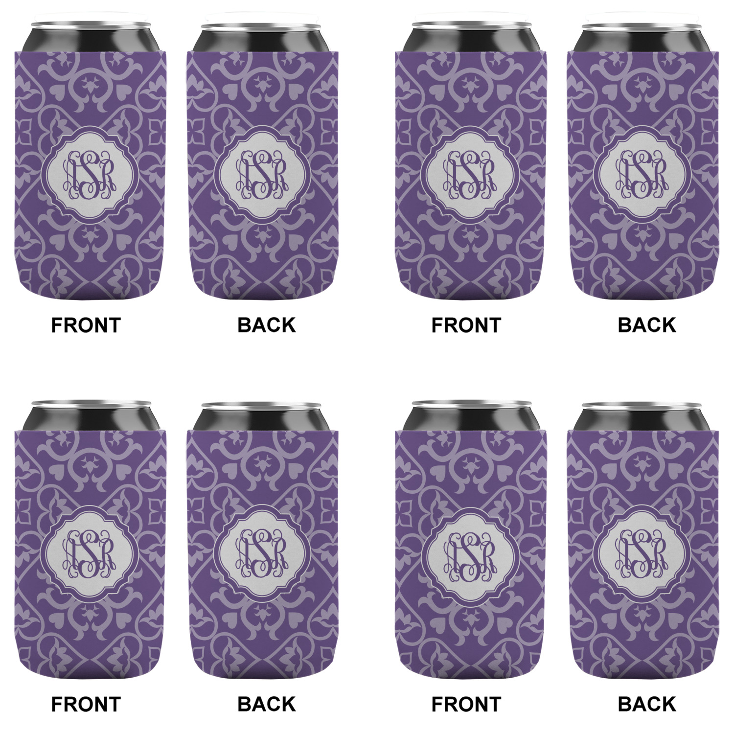 Lotus Flower Can Sleeve 12 Oz Personalized Youcustomizeit