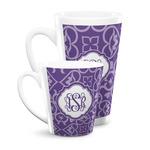 Lotus Flower Latte Mug (Personalized)