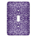 Lotus Flower Light Switch Covers (Personalized)