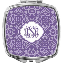 Lotus Flower Compact Makeup Mirror (Personalized)