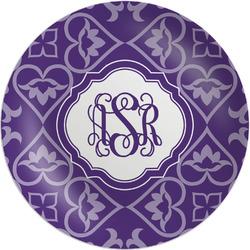 "Lotus Flower Melamine Plate - 8"" (Personalized)"