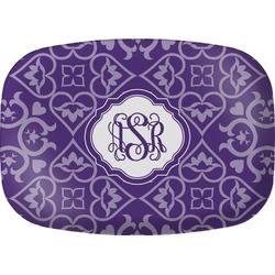 Lotus Flower Melamine Platter (Personalized)