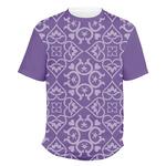 Lotus Flower Men's Crew T-Shirt (Personalized)