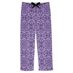 Lotus Flower Mens Pajama Pants (Personalized)
