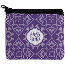 Lotus Flower Rectangular Coin Purse (Personalized)