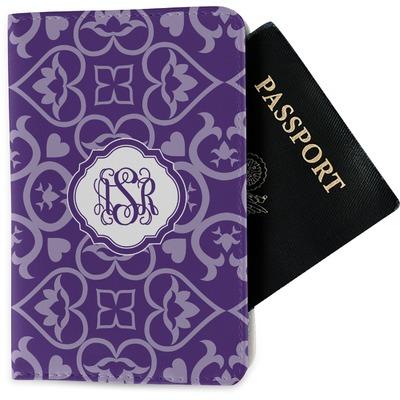 Lotus Flower Passport Holder - Fabric (Personalized)