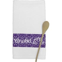 Lotus Flower Kitchen Towel (Personalized)