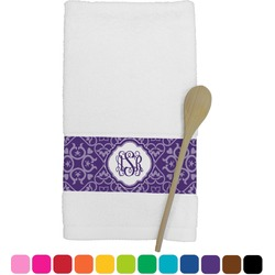 Lotus Flower Kitchen Towel (Personalized)