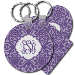 Lotus Flower Plastic Keychains (Personalized)