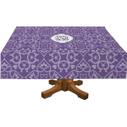 Lotus Flower Rectangle Tablecloth (Personalized)