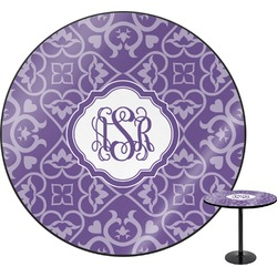 Lotus Flower Round Table (Personalized)