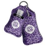 Lotus Flower Hand Sanitizer & Keychain Holder (Personalized)
