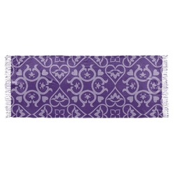 Lotus Flower Faux Pashmina Scarf (Personalized)