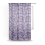 Lotus Flower Sheer Curtains (Personalized)