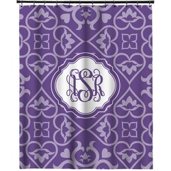 """Lotus Flower Extra Long Shower Curtain - 70""""x84"""" (Personalized)"""