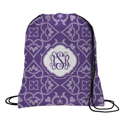 Lotus Flower Drawstring Backpack (Personalized)