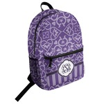 Lotus Flower Student Backpack (Personalized)
