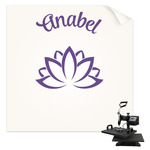 Lotus Flower Sublimation Transfer (Personalized)