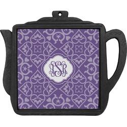 Lotus Flower Teapot Trivet (Personalized)