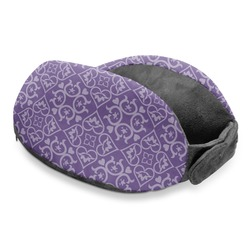 Lotus Flower Travel Neck Pillow (Personalized)