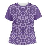 Lotus Flower Women's Crew T-Shirt (Personalized)