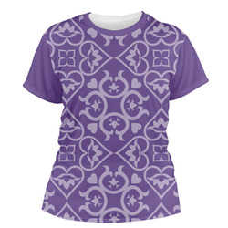 Lotus Flower Women's Crew T-Shirt (Personalized)