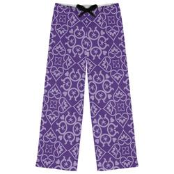 Lotus Flower Womens Pajama Pants (Personalized)