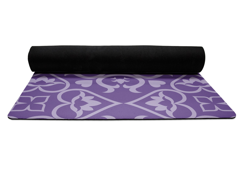 Lotus Flower Yoga Mat Personalized Youcustomizeit