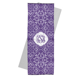 Lotus Flower Yoga Mat Towel (Personalized)