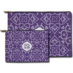 Lotus Flower Zipper Pouch (Personalized)