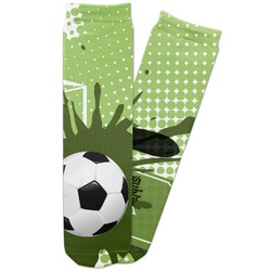 Soccer Adult Crew Socks (Personalized)