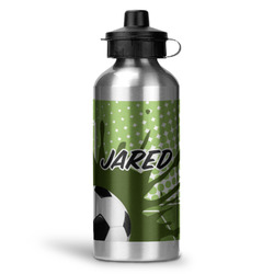 Soccer Water Bottle - Aluminum - 20 oz (Personalized)