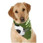 Soccer Pet Bandanas (Personalized)