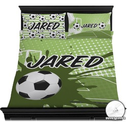 Soccer Duvet Cover Set (Personalized)