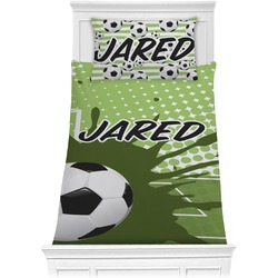 Soccer Comforter Set - Twin XL (Personalized)