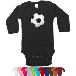 Soccer Bodysuit - Black (Personalized)