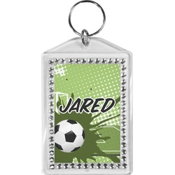 Soccer Bling Keychain (Personalized)