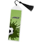Soccer Book Mark w/Tassel (Personalized)