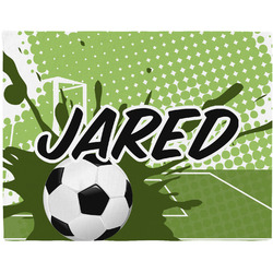 Soccer Placemat (Fabric) (Personalized)