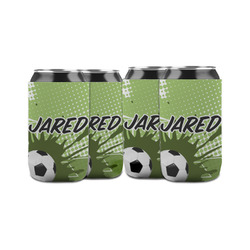 Soccer Can Sleeve (12 oz) (Personalized)