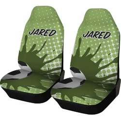 Soccer Car Seat Covers (Set of Two) (Personalized)