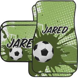 Soccer Car Floor Mats (Personalized)