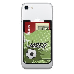 Soccer Cell Phone Credit Card Holder (Personalized)
