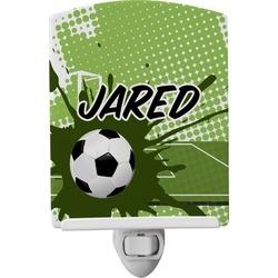 Soccer Ceramic Night Light (Personalized)