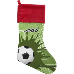 Soccer Christmas Stocking (Personalized)