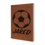 Soccer Leatherette Journal (Personalized)